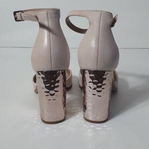Aldo heels with chunky rose gold heel
